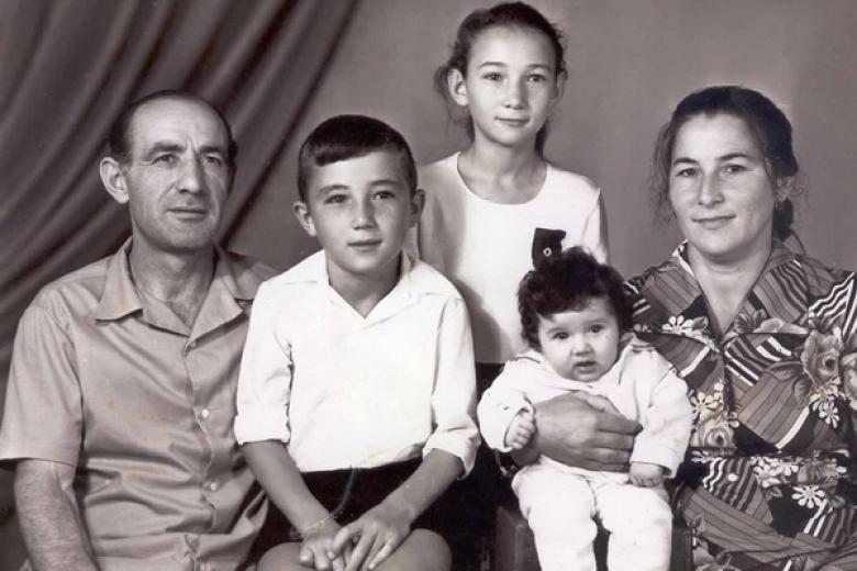 Рамазан и Людмила с детьми