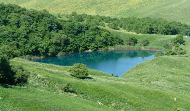 Кабардино-Балкарская Республика. Озеро Шадхурей